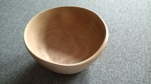 Handmade Holzschüssel