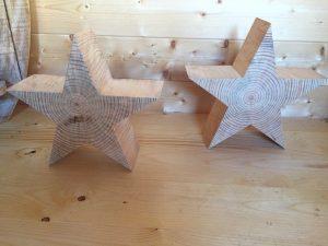 Sternenzauber Holzdekoration